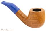 Savinelli Mini 601 Blue Smooth Tobacco Pipe - Bent Billiard Right Side