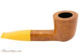Savinelli Mini 409 Yellow Smooth Tobacco Pipe - Dublin Right Side