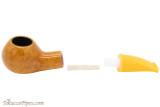 Savinelli Mini 321 Yellow Smooth Tobacco Pipe - Author Apart