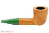 Savinelli Mini 409 Green Smooth Tobacco Pipe - Dublin Right Side