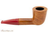 Savinelli Mini 409 Red Smooth Tobacco Pipe - Dublin Right Side