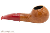 Savinelli Mini 321 Red Smooth Tobacco Pipe - Author Right Side