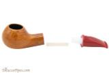 Savinelli Mini 321 Red Smooth Tobacco Pipe - Author Apart