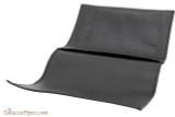 Brigham Large Tobacco Pouch - Black Open