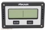 Xikar 833XI Rectangle Digital Hygrometer