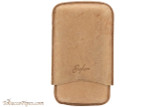 Brigham 3F Robusto Cigar Case - Brown