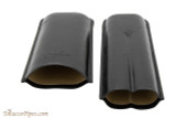Brigham 2F Toro Cigar Case - Black Open