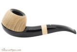 Vauen Oak Bent Apple 237 Ebony Tobacco Pipe