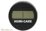 Humi-Care Black Ice Digital Round Hygrometer