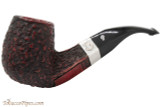 Peterson Sherlock Holmes Milverton Rustic Tobacco Pipe - PLIP