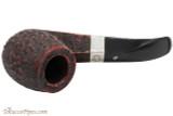 Peterson Sherlock Holmes Milverton Rustic Tobacco Pipe - PLIP Top