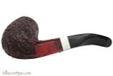 Peterson Sherlock Holmes Milverton Rustic Tobacco Pipe - PLIP Bottom