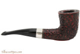 Peterson Sherlock Holmes Mycroft Rustic Tobacco Pipe - PLIP Right Side