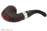 Peterson Sherlock Holmes Baskerville Rustic Tobacco Pipe - PLIP Bottom