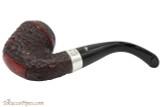 Peterson Sherlock Holmes Watson Rustic Tobacco Pipe - PLIP Bottom