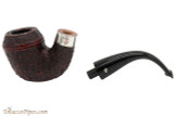 Peterson Sherlock Holmes Watson Rustic Tobacco Pipe - PLIP Apart