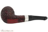 Peterson Sherlock Holmes Strand Large Rustic Tobacco Pipe - PLIP Bottom