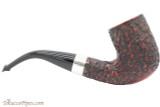 Peterson Sherlock Holmes Rathbone Rustic Tobacco Pipe - PLIP Right Side