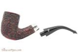 Peterson Sherlock Holmes Rathbone Rustic Tobacco Pipe - PLIP Apart