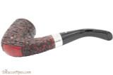 Peterson Sherlock Holmes Rathbone Rustic Tobacco Pipe - PLIP Bottom