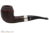 Peterson Sherlock Holmes Deerstalker Rustic Tobacco Pipe PLIP