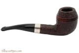Peterson Sherlock Holmes Deerstalker Rustic Tobacco Pipe PLIP Right Side