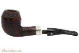 Peterson Sherlock Holmes Deerstalker Rustic Tobacco Pipe PLIP Apart