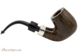 Peterson House Pipe Bent Billiard Oak Tobacco Pipe - PLIP Right Side