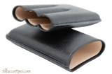 Martin Wess 597 Dante Petite Corona Case - Black