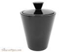 Savinelli Black Ceramic Tobacco Jar