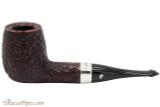 Peterson House Pipe Rustic Billiard Oak Tobacco Pipe - PLIP