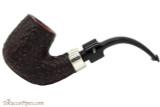 Peterson House Pipe Rustic Bent Billiard Tobacco Pipe - PLIP