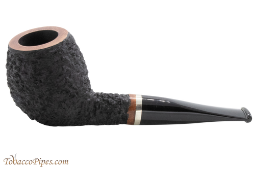 OMS Pipes Devil Anse Tobacco Pipe - Silver Band