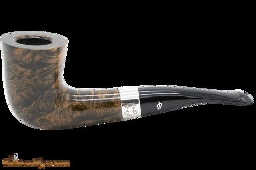 Peterson Sherlock Holmes Mycroft Dark Smooth Tobacco Pipe PLIP