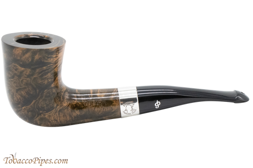 Peterson Sherlock Holmes Mycroft Dark Smooth Tobacco Pipe PLIP