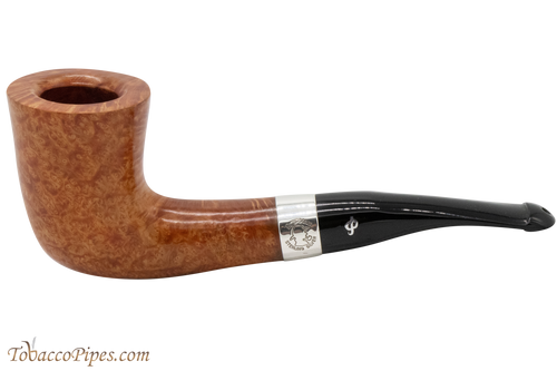 Peterson Sherlock Holmes Mycroft Natural Smooth Tobacco Pipe PLIP