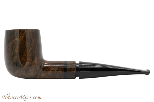 Mastro De Paja Anima Grey 02 Tobacco Pipe - Smooth Billiard