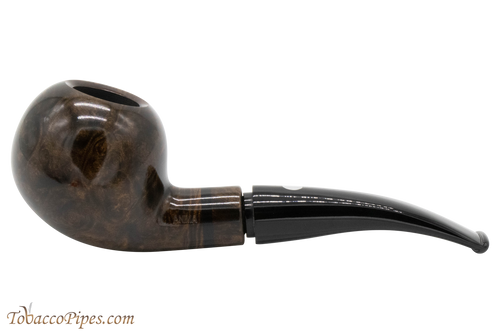 Mastro De Paja Anima Grey 03 Tobacco Pipe - Smooth Apple