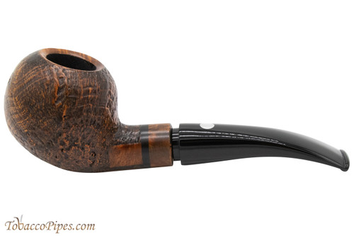 Mastro De Paja Anima 03 Tobacco Pipe - Sandblast Apple