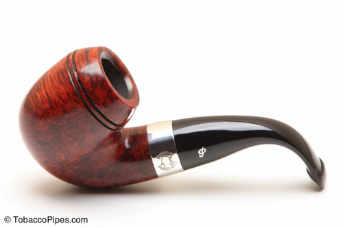 Peterson Sherlock Holmes Baskerville Smooth Tobacco Pipe PLIP Left Side