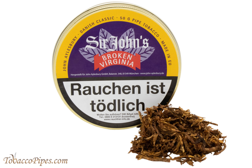 John Aylesbury Sir John's Broken Virginia Pipe Tobacco - 50 g