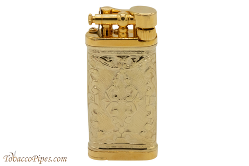 Sillems LEA Old Boy Champagne Double Sided Pipe Lighter