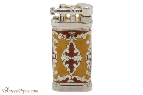 Sillems LEA Old Boy Yellow/Red Single Sided Pipe Lighter
