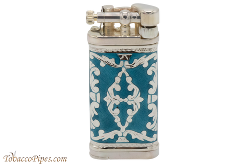 Sillems LEA Old Boy Azur Single Sided Pipe Lighter