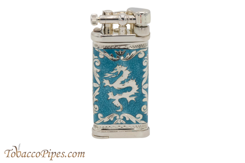 Sillems LEA Old Boy Dragon Azur Pipe Lighter