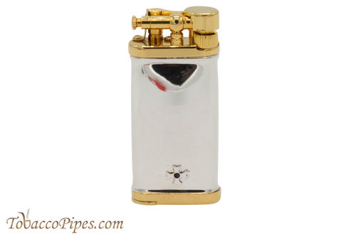 Sillems Old Boy Silver/Gold Pipe Lighter