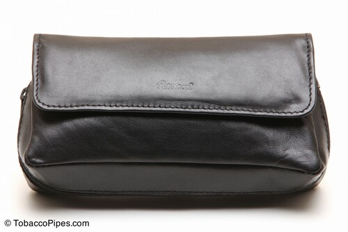 Peterson Classic Tobacco and 2 Pipe Pouch Front