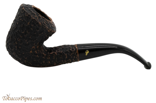 Peterson Aran B10 Bandless Rustic Tobacco Pipe