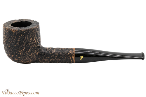 Peterson Aran 606 Bandless Rustic Tobacco Pipe