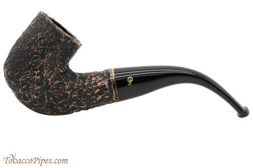Peterson Aran 338 Bandless Rustic Tobacco Pipe